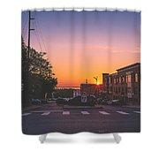 Bellingham Sunset Shower Curtain