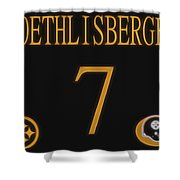 Ben Roethlisberger Jersey Shower Curtain