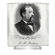 Benjamin Bristow Shower Curtain