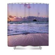 Bermuda Sunrise Welcome To Heaven Crossbay Beach Shower Curtain