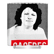 Berta Caceres Shower Curtain by MB Dallocchio