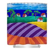 Best Of Two Worlds Shower Curtain