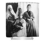 Bethlehem Women In 1886 Shower Curtain