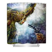 Betrayal Shower Curtain