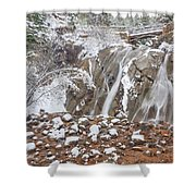 Better Act Than Talk, Better Prove Than Promise Shower Curtain