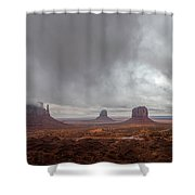 Between Squalls Shower Curtain