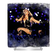 Beyonce #2 Shower Curtain