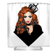 Bianca Del Rio  Shower Curtain