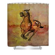 Bid For Freedom Shower Curtain by Valerie Anne Kelly
