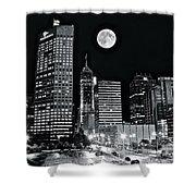 Big Moon Indianapolis 2019 Shower Curtain