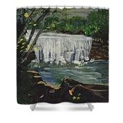 Big Waterfall Shower Curtain