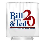 Bill And Ted Shower Curtain