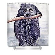 Bill Out Of The Blue Shower Curtain
