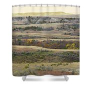 Black Butte September Reverie Shower Curtain