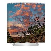 Black Canyon Sunrise Shower Curtain