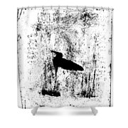 Black Ivory Actual 1b23z Shower Curtain