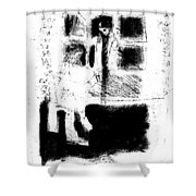Black Ivory Actual 1b58z Shower Curtain
