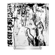 Black Ivory Actual 1b79z Shower Curtain