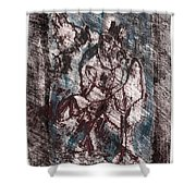 Black Ivory Issue 1b13 Shower Curtain