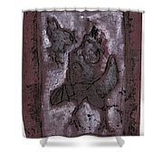Black Ivory Issue 1b15 Shower Curtain