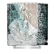 Black Ivory Issue 1b29a Shower Curtain