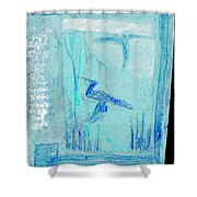 Black Ivory Issue 1b51a Shower Curtain