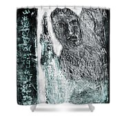 Black Ivory Issue 1b60a Shower Curtain