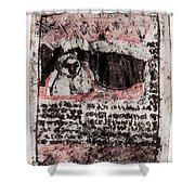 Black Ivory Issue 1b66 Shower Curtain
