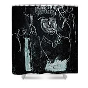 Black Ivory Issue 1b9a Shower Curtain