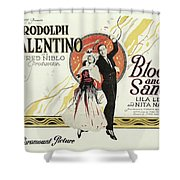 Blood And Sand, 1922 Shower Curtain