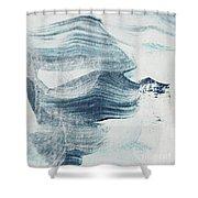 Blue #1 Shower Curtain