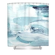 Blue #15 Shower Curtain