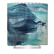 Blue #3 Shower Curtain