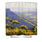 Blue Mountains Australia Shower Curtain