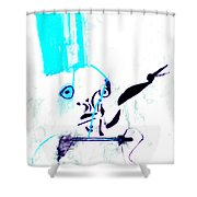 Blue Room Shower Curtain