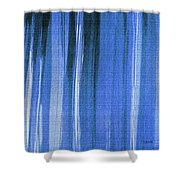 Blue Shower Curtain Shower Curtain
