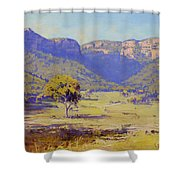 Bluffs Of The Capertee Valley Shower Curtain