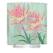 Blush Of Pink Shower Curtain