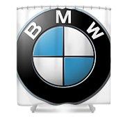 Bmw Emblem Shower Curtain