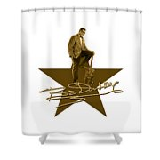 Bo Diddley - Signature Shower Curtain