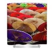 Bo Sang Umbrellas, Thailand Shower Curtain