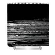 Boardwalk To The Unknown Shower Curtain by Doug Camara