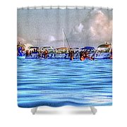 Boat Party Toronto  Shower Curtain