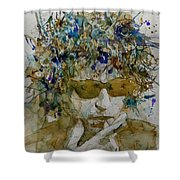 Bob Dylan - Knocking On Heavens Door Shower Curtain
