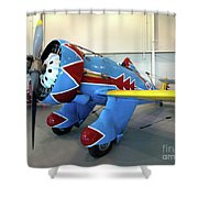 Boeing P-26 Peashooter Shower Curtain