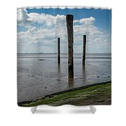 Bohrinsel Viewing Platform Shower Curtain