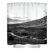 Boiling River Shower Curtain