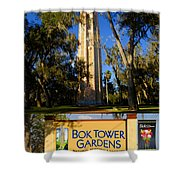 Bok Tower Gardens Poster A Shower Curtain