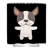 Boston Terrier Gift Idea Shower Curtain