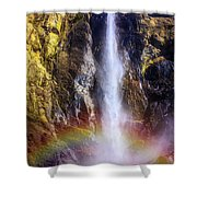 Bottom Of The Falls Shower Curtain